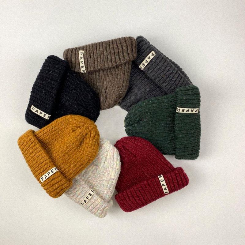 Neffy Ribbed Beanie (Forest Green)