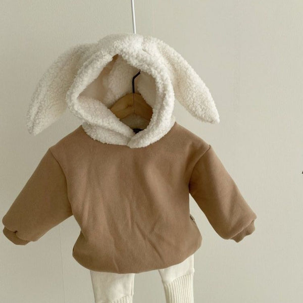 Rabbit Bunny Ear Hoody Top