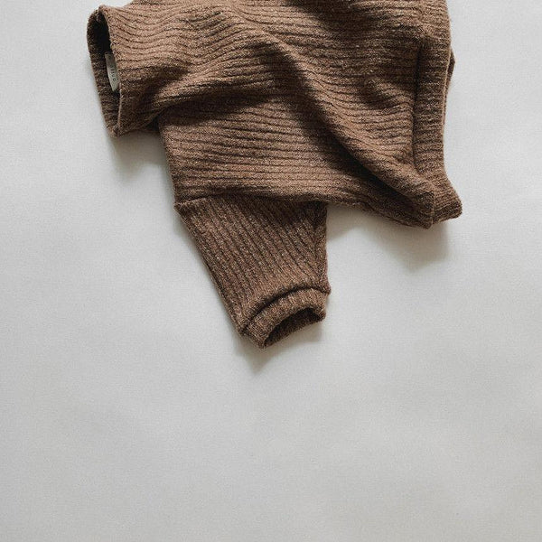 Dolce Funnel Neck Pullover (Coffee)