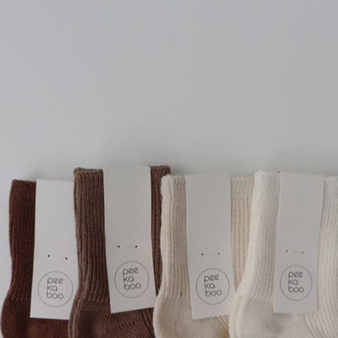 Mio Rib Ankle Socks 4 Piece Set