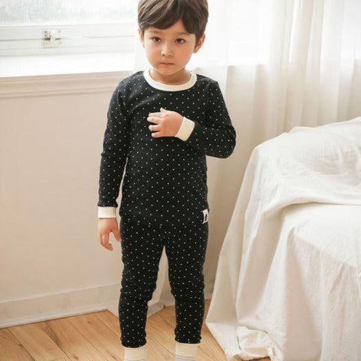 Black Dotty Easywear Set