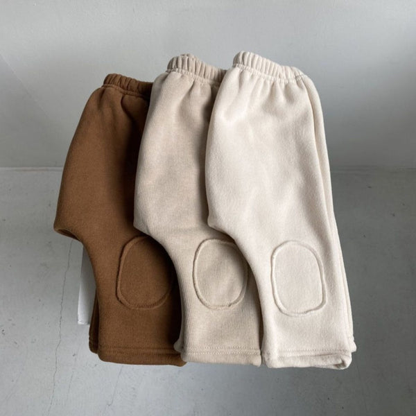 Cato Fleeced Warm Sweat Pants (Toffee)