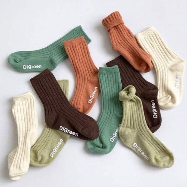 Ami Organic Rib Socks 5 Piece Set