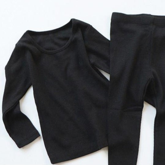 Indi Top and Leggings Basics Set (Black)