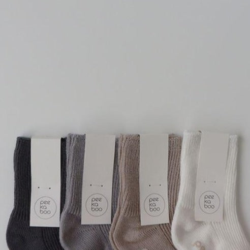 Milo Rib Ankle Socks 4 Piece Set