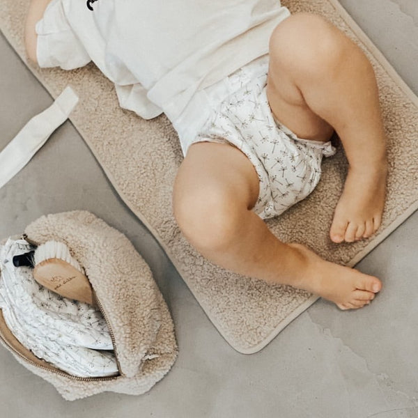 Teddy Easy-fold Changing Mat (Beige)