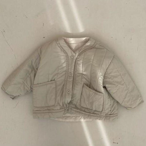 Roma Quilted Cotton Jacket (Sage)