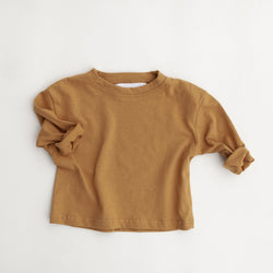 Kindly Long Sleeve Tee (Mustard)