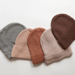 Kindly Chunky Knit Beanie (Chocolate)