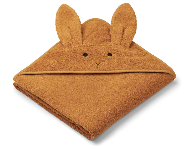 Augusta Rabbit Hooded Junior Towel (Mustard)