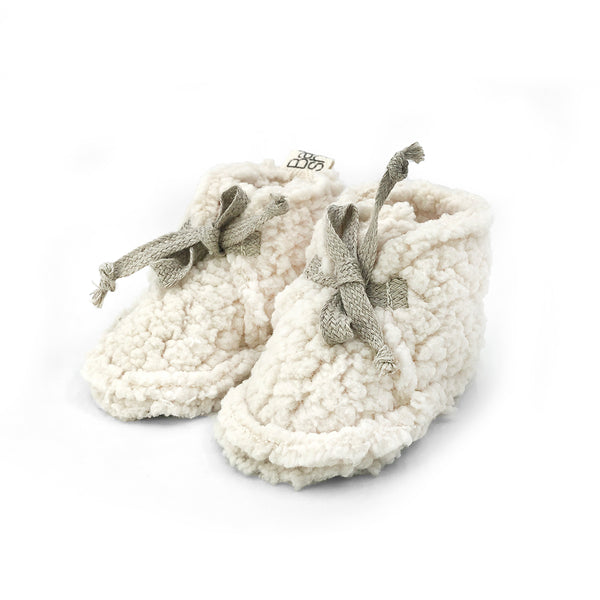 Teddy Organic Cotton Booties