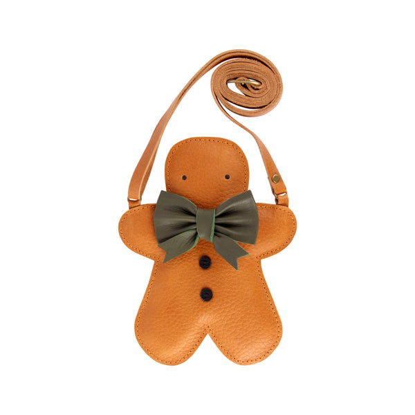 Britta Leather Gingerbread Bag Purse