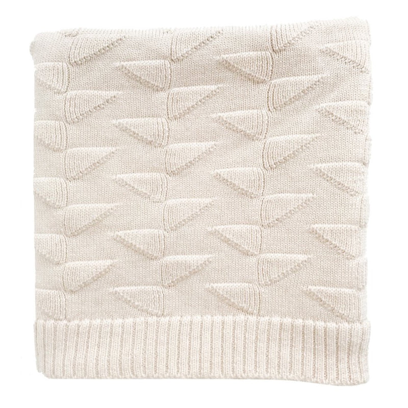 The Charlie Merino Wool Blanket (Off White)