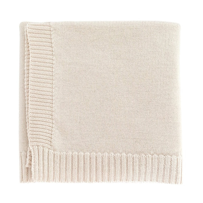 The Didi Merino Wool Blanket (Off White)