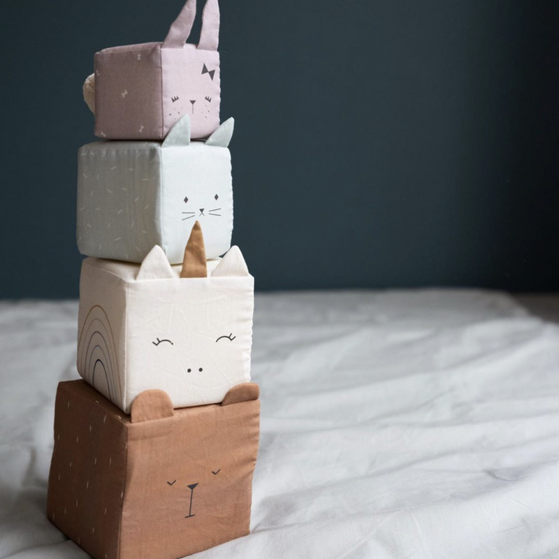 Soft Animal Stacking Blocks