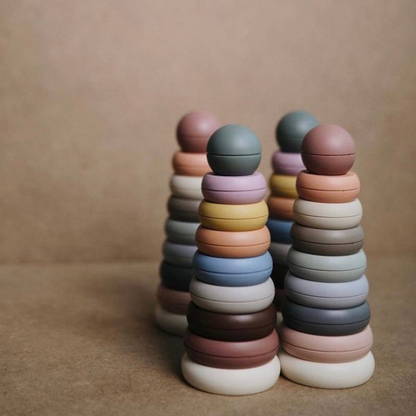 Mushie Tonal Stacking Rings (Original)
