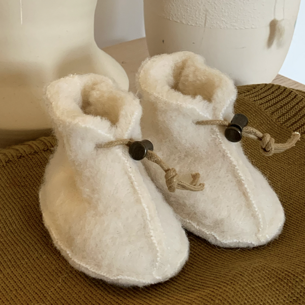 Milk 100% Irish Wool Booties