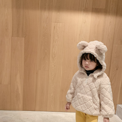 Harri Cosy Bear Ear Teddy Fleece