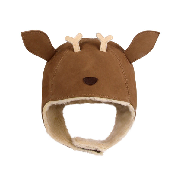 Kapi Nubuck Leather Deer Hat