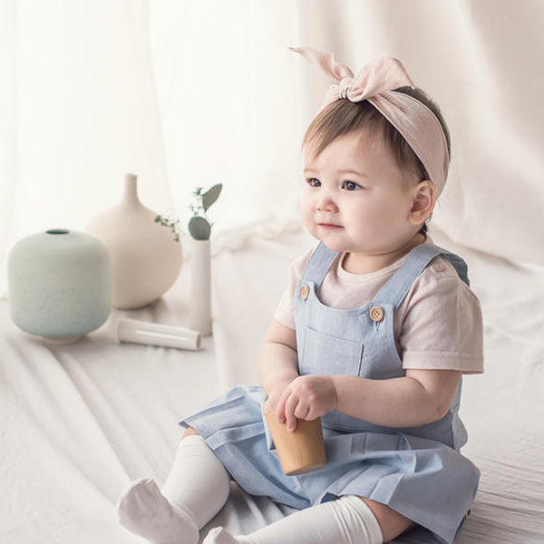 Kinder Wire Baby Knot Headband (Pink)