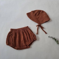 Woven Bloomers (Rust)