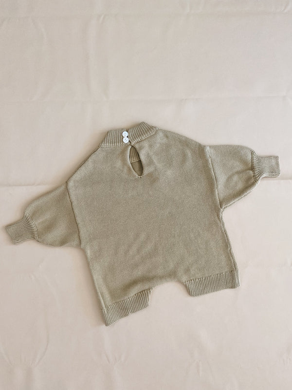 Olsen Knit Playsuit (Sage)