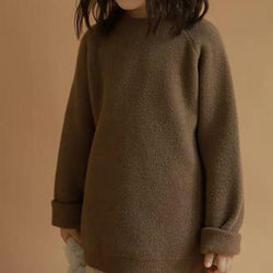 Kati Long Line Jumper (Cocoa)