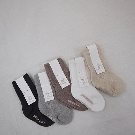 Milo Open Weave Ankle Socks 5 Piece Set