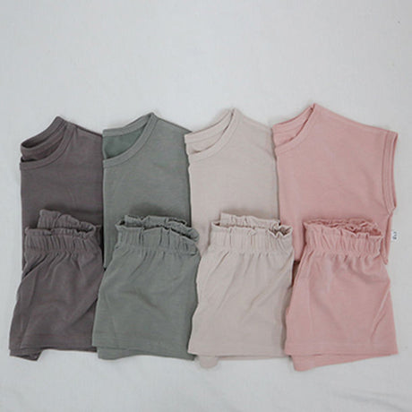 MAMA Soft Touch Cap Sleeve T-Shirt and Shorts Set