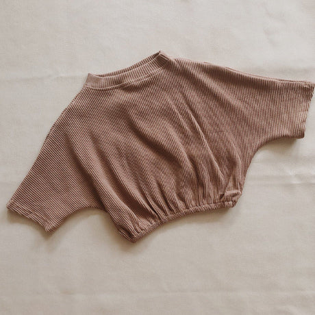 Tully Ribbed Mocha Tee