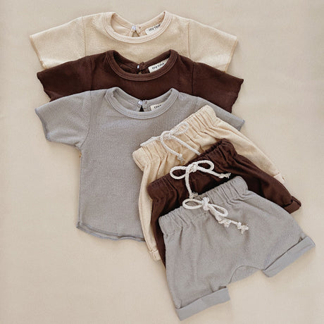 Jude Terry Summer 2 Piece Set (Cocoa)
