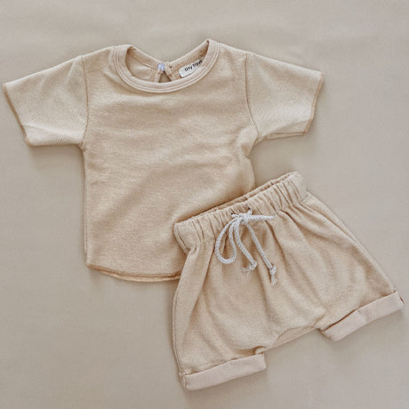 Jude Terry Summer 2 Piece Set (Cream)