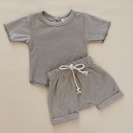 Jude Terry Summer 2 Piece Set (Slate Grey)