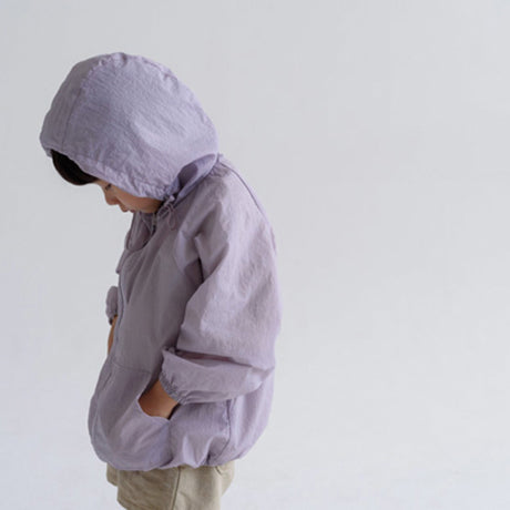 Zephyr Windbreaker Hooded Jacket (Lilac)