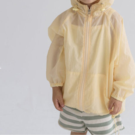 Zephyr Windbreaker Hooded Jacket (Lemon)