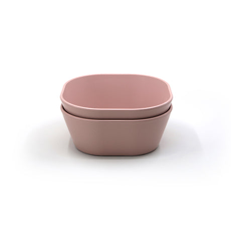 Square Bowls, Set of 2 (Blush)