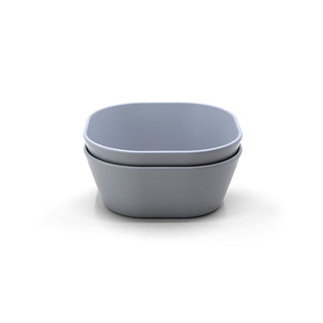 Square Bowls, Set of 2 (Cloud Blue Grey)