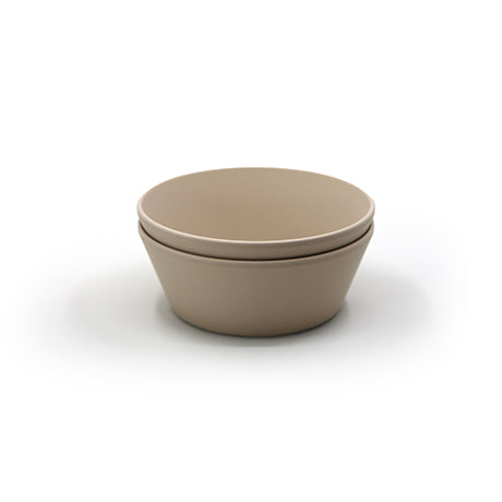 Round Bowls, Set of 2 (Vanilla)