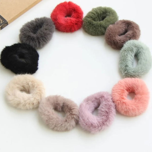 Fluffy Modern Scrunchie Hairband