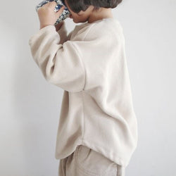 Mico Fleece Tee (Beige)