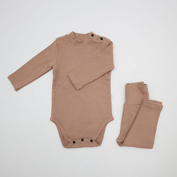 Turtle Romper and leggings Set (Pink)