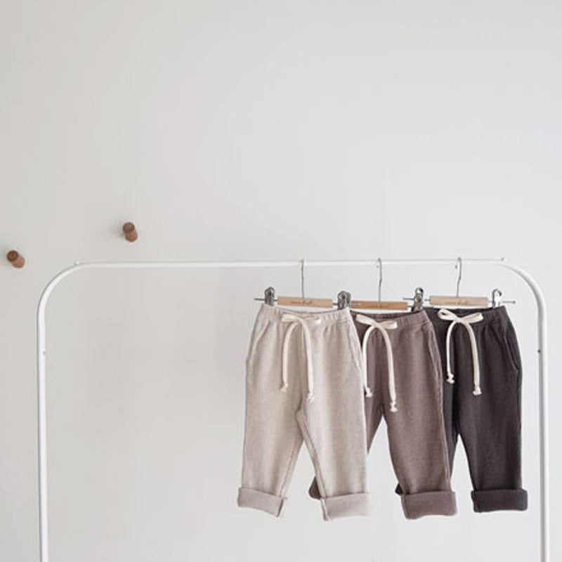 Rex Waffle Roll Up Pants (Cocoa)