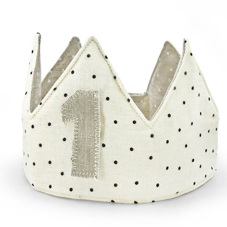 Rey Reversible Organic Cotton Birth Year Crown
