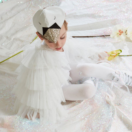 White Swan Cape Dress Up