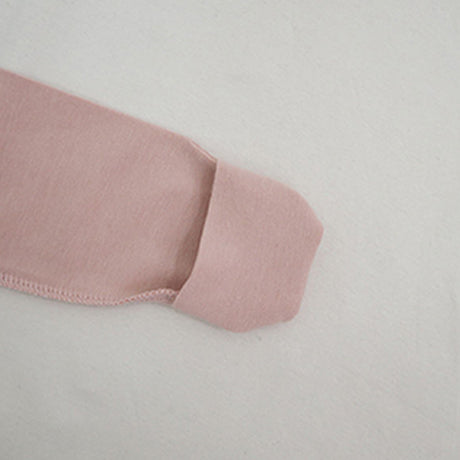 New Bebe Kimono Swaddle Suit with Knot Hat (Pink)
