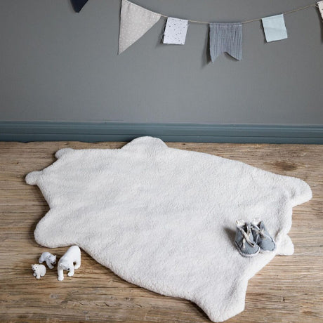 Reversible Bear Plaid Mat and Liner (Charcoal Grey)