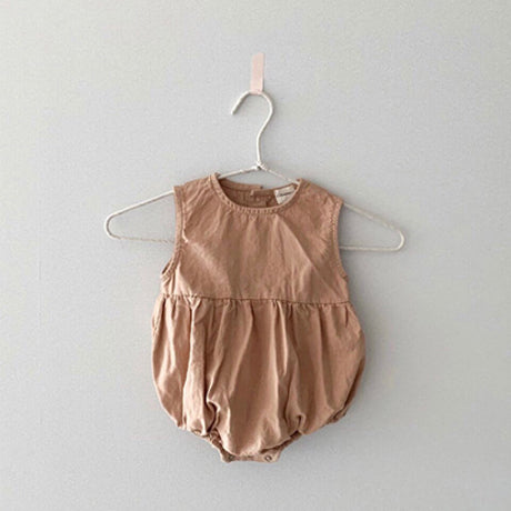 Ludo Cotton Romper (Rust)