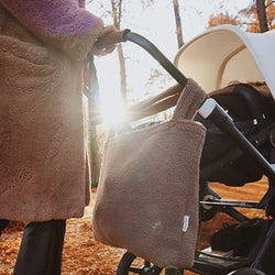 Studio Noos Oversize Mama Stroller Bag (Brown Teddy)