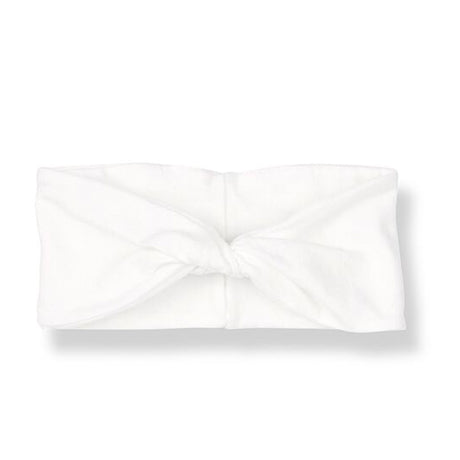 Organic Jersey Knot Headband (Off White)