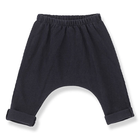 Matera Drop Crotch Trousers (Navy)